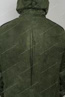 Костюм Беркут замша с мембранным покрытием (олива) - куртка сзади