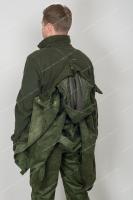 Костюм Беркут замша с мембранным покрытием (олива) - внутрянняя куртка