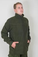 Костюм Беркут замша с мембранным покрытием олива (внутренняя куртка)