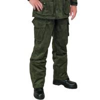 Костюм Беркут замша с мембранным покрытием олива (брюки)