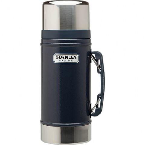 Термос для еды STALEY Vacuum Food Jar 0.7L Hammertone Navy CLASSIC