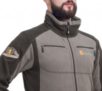 Куртка Фрегат флис олива + орех