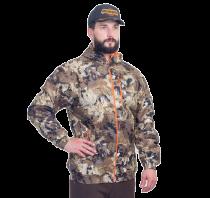 Куртка Лес-1 мембранное трикотажное полотно соты (оранжевый подклад)