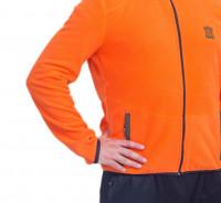 Куртка мужская Трофей флис оранжевый