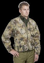 Куртка-жилет охотника Люкс-2 смесовая ткань соты