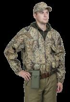 Куртка-жилет охотника Люкс-2 смесовая ткань тростник-2