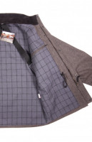 Костюм из сукна демисезонный серый для охоты