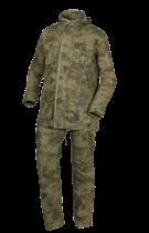 Костюм тактический рип-стоп зеленый камуфляж