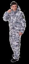 Костюм с полукомбинезоном патриот новый белый -45